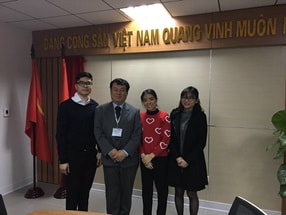 Visit to Vietnam (VNCERT and AIS)