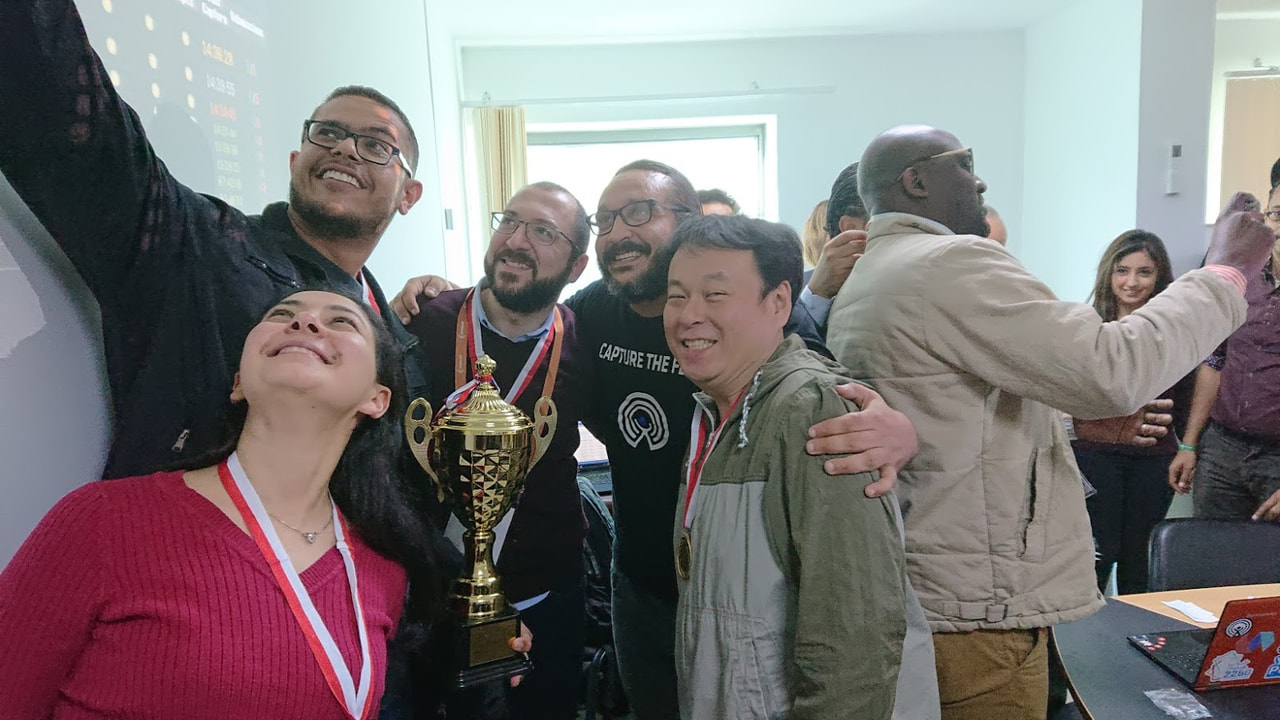 Won the CTF