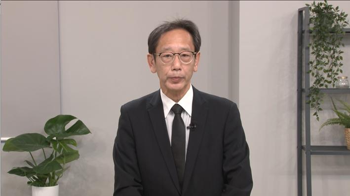 開会の挨拶:経済産業省サイバーセキュリティ・情報化審議官 江口氏