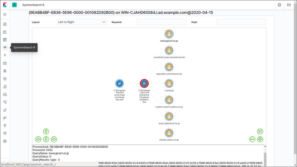 図2: SysmonSearch Rプラグイン